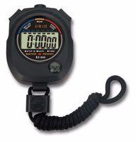 temporizador de funcionamiento al por mayor-Ventas calientes LCD digital Funcionamiento deportivo Cronómetro Cronómetro deportivo profesional Contador temporizador Deportes Alarma Reloj de bolsillo # 123