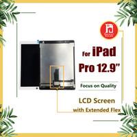 cables de pantalla lcd al por mayor-Para iPad Pro Pantalla LCD de 12,9 pulgadas con placa base Cable flexible Panel táctil Digitalizador Ensamblaje Pantalla de reemplazo y pegamento 3M