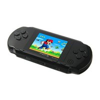 Wholesale handheld pocket games online - 2 quot Screen Handheld Video Game Console Portable Game Players Bit Classic PXP3 Slim Station Color Pocket Gamepad Console