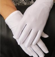 guantes blancos de verano al por mayor-Moda masculina de verano elástico grande guantes blancos grandes guantes de etiqueta de color negro masculino de conducción al por mayor tb006