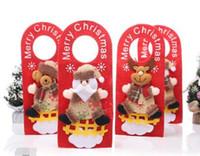 sinos de natal ao ar livre venda por atacado-Atacado-Hoomall Porta pendurado pingente gota de Bell Ornamentos Outdoor Decoração de Natal para casa Ano Novo 2016