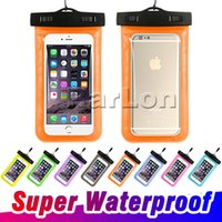Wholesale waterproof dry case camera for sale – best Dry Bag Universal Waterproof Case High Clear Camera Use Soild For Iphone X Plus Samsung Galaxy S9 Note
