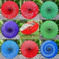 ingrosso souvenir tradizionali-84 centimetri 33inch del lungo-dritto tradizionale giapponese di carta Ombrelli Wedding Souvenir Parasol favore di partito regalo