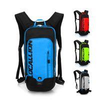 ingrosso borsa locale-LOCAL LEONE 8L Ultralight Impermeabile Ciclismo Zaino Uomo Donna MTB Bike Water Bag Traspirante Sport Bicicletta Zaino da escursionismo