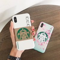 Wholesale iphone cases sailor resale online - YunRT New Sailor Moon Soft silicon phone case for iphone s S plus plus plus X XS XR MAX coffee Cherry blossoms phone cases