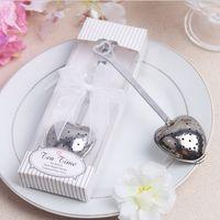ingrosso souvenir baby decorazione-Love Tea Strainer Bomboniere Souvenir per matrimoni Baby Shower Bomboniere e articoli da regalo Love Party Decorations Supplies