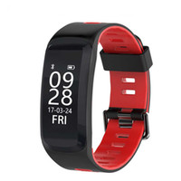 браслеты оптовых-2018 New Smart Bracelet IP68 Waterproof Blood pressure Blood Oxygen Heart Rate Monitor Wristband Fitness Track for Android IOS