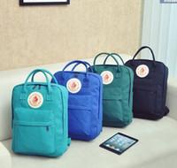 tatlı okul çantaları toptan satış-Toptan-Yeni 2016 Moda Tiki Okul Çantaları seyahat kız çantası Tatlı Okul unisex tuval Sırt Çantaları