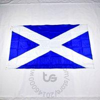 ingrosso bandiere scozia-Bandiera nazionale scozzese / scozzese Spedizione gratuita 3x5 FT / 90 * 150cm Bandiera nazionale scozzese appesa bandiera scozzese