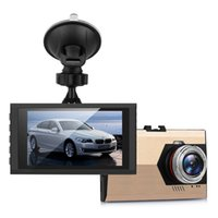 """Wholesale vision stand - 720P High Definition Car Video Audio Recording 3.0"""" Cyclic Recorder Dashcam CAR DVR with Suction Stand Gold"""
