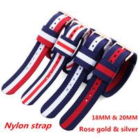 Wholesale sport straps for glasses - Luxury Brand Men's Women's Watches 36 40MM NATO Nylon Strap Watchband FOR DW Watch Daniel Wellington Wristwatch Nylon Femme relogio feminino