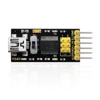 módulo serial usb venda por atacado-Keyestudio Program Downloader Conversor USB para TTL / FT232 com cabo USB Usado como USB comum para serial módulo TTL