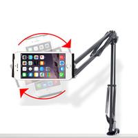 многофункциональный мобильный стенд оптовых-Free shipping B.O.W Mobile phone stand lazy stent bed head For ipad flat stand multi-function desktop universal