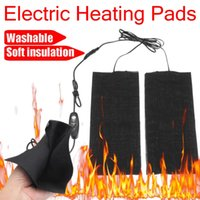 Wholesale electric tablets online - Electric Heated Pads Heat Setting Thermal For Clothes Insoles Heating Trouser Legs Arm Warm Washable USB Heated Tablet Sheet Mat
