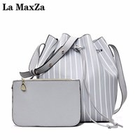 Wholesale dragonfly bags - La MaxZa 2017 Women Bags Good Quality Women Bag Bucket Ladies Clutches Dragonfly Cross-body Bags For