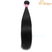 Wholesale brazilian human hair single for sale - Group buy Single Brazilian Straight Virgin Hair Bundle g Straight Human Hair Extensions Brazilian Straight Hair Weave Bundles