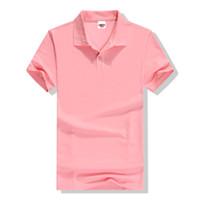 Wholesale brand polo woman resale online - Designer Polo Summer High Quality Brand Men Polo Short Sleeve Shirt Fashion Casual Solid Polo Shirt Women Shirts Undershirts Cvc