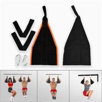 bant kas toptan satış-İnce Bel Karın Kas Bandı Konsol Bantları Karın Eğitmen Askı Askı Askı Draping Bacak Fitness Ekipmanları Ev 26kl dd