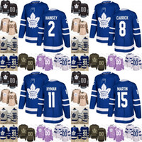 2019 Toronto Maple Leafs mens womens youth 2 Ron Hainsey 8 Connor Carrick  11 Zach Hyman Hockey Jersey Stitched a10b0680c