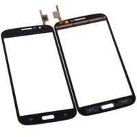 сенсорный экран samsung duos оптовых-Белый сенсорный экран Digitizer стекло для Samsung Galaxy Mega 5.8 i9150 Duos i9152