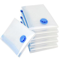 Wholesale vacuum seal clothing for sale - Group buy Transparent Border Foldable Extra Large Vacuum Seal Storage Bags Space Saving Clothes Travel Compressed Bag Dustproof Compressed Organiser