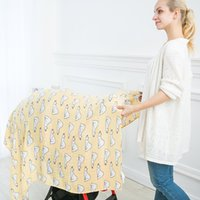 Wholesale shawl accessories for sale - Muselin Baby Shawls and Wraps Unicorn Pineapple Print Newborn Photography Wrap Unisex Baby Accessories for Baby Carseat Cover