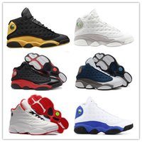Wholesale discount sports for sale - 2018 Mens Basketball Shoes Bred Black True Red Moon Particle Graduation Class of Discount Sports Shoe Women Sneakers s Black Cat