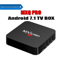 Wholesale best selling android tv box for sale - Group buy Best selling GB GB GB MXQ Pro K Android TV Box RK3229 Rockchip MXQ PRO Smart TV Box Android TV Box Better TX3 X96 mini