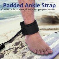 freie leine groihandel-Hochfeste Seile-stilvolle Surfbrett-Knöchel-Leine-Seil 10ft aufgerollt stehen oben die Paddel-Brett-Surfschnur-Schnur, die frei A65 versendet