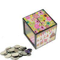 caja de dinero mágica al por mayor-Magic Money Box Close Range Novedad Alcancía No ver Juguetes con monedas para niños Magia Mostrar apoyos de alta calidad 2 7wb Z