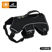 Wholesale christmas pet products - Christmas Dog Harness Pet Products For Large Dogs Vest Reflective Glowing Led Collar Leads Training Harness Safety VC16-OHC001