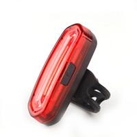 weiße fahrradsicherheit warnleuchte großhandel-USB aufladbare Fahrradlicht führte hinteres rotes weißes Sattel-Rücklicht-Gebirgsfahrradrücklicht-wasserdichte Sicherheitswarnung