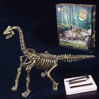 Wholesale art kits for kids for sale - Group buy Discover the Dinosaur by Dinosaur projects Includes Piece Excavation Kits Exciting Fun for Children Best Unique Art Gift