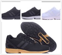 92b5762bc8c71 2018 NEW ARRIVE men women sports casual shoes black gold zx flux eur 36-44  free shipping high quality