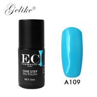 ingrosso uv nail polish perfetto estate-Gelike Nail Gel Polish One Step 3 in 1 Gel per unghie Perfect Summer LED UV Soak Off Long Last Non necessita di base e Top Coat Va