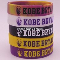 ingrosso bracciale kobe-Braccialetti in silicone da polso Kobe da 1pz