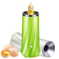 ingrosso uovo automatico-Egg Boiler Strumento di cottura per la casa Colazione automatica Eggs Roll Maker Cup Verde Bianco Nuovo 30qr Y R