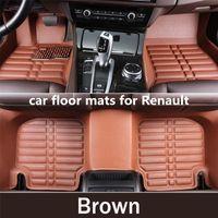 Wholesale 3d car carpet floor mats for sale - Group buy 3D Custom Car Floor Mats for Renault All Renault Logan Megane II FLUENCE Car Accessories Carpet in The Car Carpets