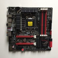 Wholesale Asus Lga1155 - For Asus M5G MAXIMUS V GENE Desktop Motherboard LGA 1155 Z77 Intel HDMI SATA 6Gb s USB 3.0 Systemboard