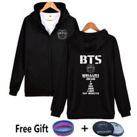 Wholesale names for clothing for sale - Wejnxin Full Name Bts Hoodies For Women Hip Hop Bangtan Boys Sweatshirt Kpop Fleece Streetwear Clothing Suga V Jung Kook Jimin