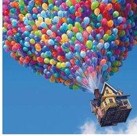 mosca acrilica al por mayor-Recién llegado Frameless DIY pintura por números acrylic painting unqiue regalo decoración para el hogar pintura por número 40 * 50 cm Flying Pixar E364