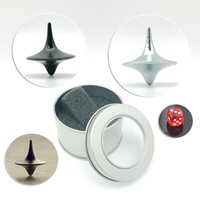 Wholesale Spinning Top Magic - New Creative Toy Spinning Top Inception Mini Magic Metal Gyro Gift For Exquisite Collection Decor Birthday Gifts Novelty Games