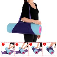Wholesale Mm Backpacks - Women Yoga Mat Bags Carrier Exercise Yoga Mat Bag with Multi-Functional Storage Pockets Backpack Shoulder Messenger Sport Bag