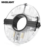 Wholesale light bike hubs online - WHEELIGHT Rechargeable Bicycle Cycling Hub Decoration Light Bike Safety Warning Wheel Lamp with the diameter no more than mm
