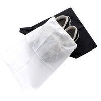 vendas de fábrica de sapatos venda por atacado-Armazenamento de calçados portáteis sacos lavável tecido não tecido saco de cordão À prova de poeira Eco Friendly organizador Venda direta da fábrica 0 54jm BB