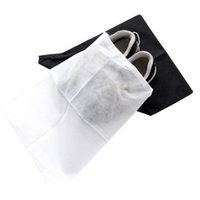 Wholesale woven shoe sale for sale - Group buy Portable Shoe Storage Bags Washable Non Woven Fabric Drawstring Bag Dust Proof Eco Friendly Organizer Factory Direct Sale jm BB