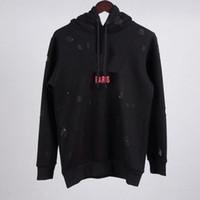 venda do japão venda por atacado-As mulheres dos homens do inverno da forma dão ao preto branco vermelho do estilo de Japão da camisola do outono de Paris do desenhista da marca as camisolas novas for sale