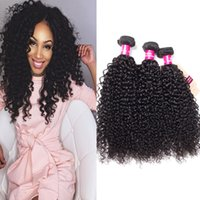 Wholesale peruvian wavy curly virgin hair for sale - Group buy Brazilian Virgin Human Hair Weave Bundles Peruvian Malaysian Indian Cambodian Straight Body Loose Deep Wave Curly Wet And Wavy A Mink Hair