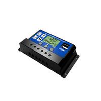 interfaz del controlador al por mayor-Regulador solar inteligente multiuso de la carga del LCD del regulador solar con la interfaz dual del USB de HD para el hogar o industrial