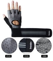 Wholesale golf twill for sale - Group buy Upgrade The Wrist Fitness Gloves Breathable Butterfly Net Sports Adult Glove Semi Finger Summer Camping Equinment Mittens fb ii